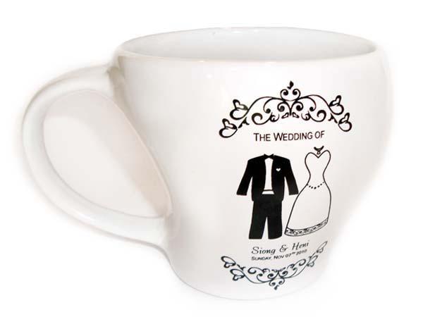 Tuxedo And Gown Printed Mugmarco Mario Souvenir Wedding Souvenirs Souvenir Pernikahan