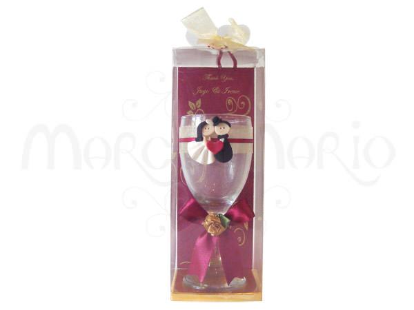 European Couple Wine Glassmarco Mario Souvenir Wedding Souvenirs Souvenir Pernikahan Surabaya Indonesia